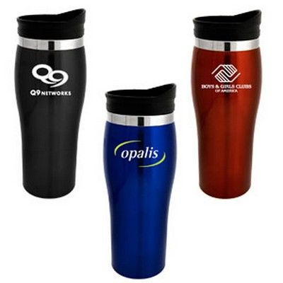 The Tasman Custom Travel Mug Min 100 - Express Promo Products - Mugs - HCL-S1581 - Best Value Promotional items including Promotional Merchandise, Printed T shirts, Promotional Mugs, Promotional Clothing and Corporate Gifts from PROMOSXCHAGE - Melbourne, Sydney, Brisbane - Call 1800 PROMOS (776 667)