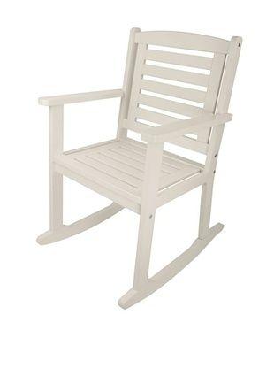 46% OFF Esschert Design USA Rocking Chair, White