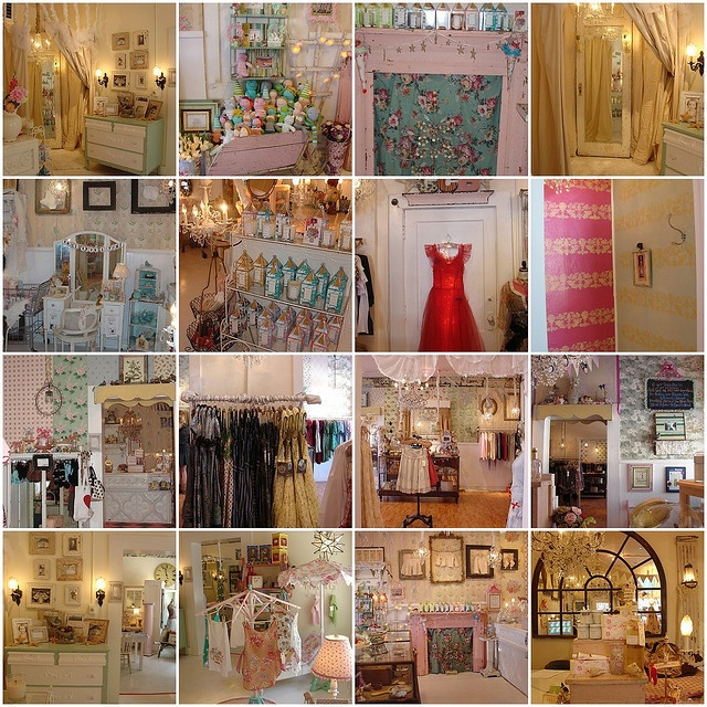 Girlie Chic Boutique In Indianapolis Store Displays Galore In Love With The Shabby Chic Look