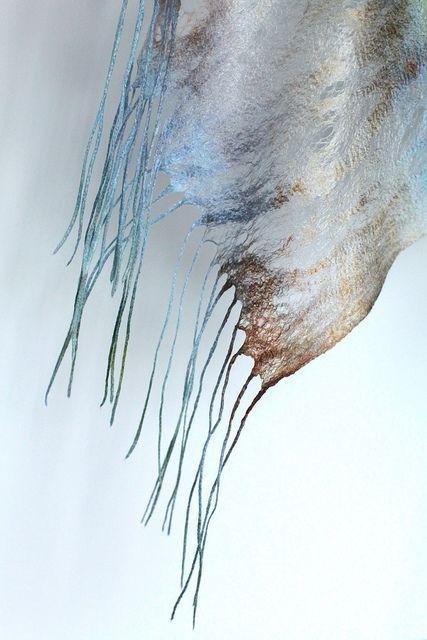 cobweb shawl   Cobweb Felted Scarf Wrap Shawl   Flickr - Photo Sharing!