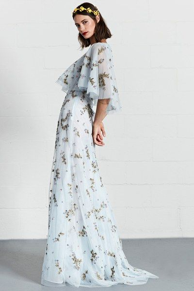 See the complete Dennis Basso Resort 2018 collection. Bride or Bridesmaid too...