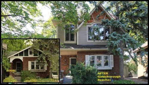 Before & After home renovation: Galnsborough Beaches, Ontario CAN  #renovation #modularhome