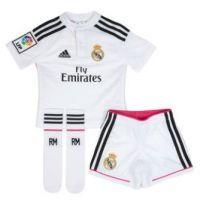 Disponible la nueva equipación Real Madrid para niños en nuestras tiendas real madrid. Descubrela aqui: http://www.deportesmena.es/79-tienda-real-madrid#.U49bbvl_sXY