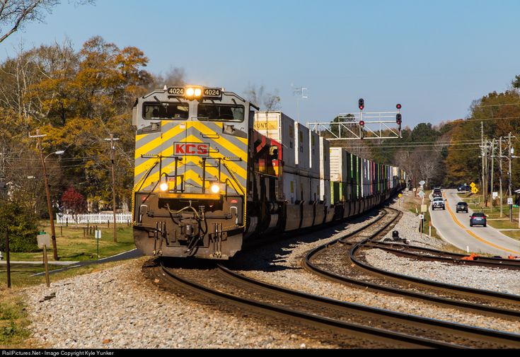 RailPictures.Net Photo: KCS 4023 Kansas City Southern Railway EMD SD70ACe at Temple, Georgia by Kyle Yunker