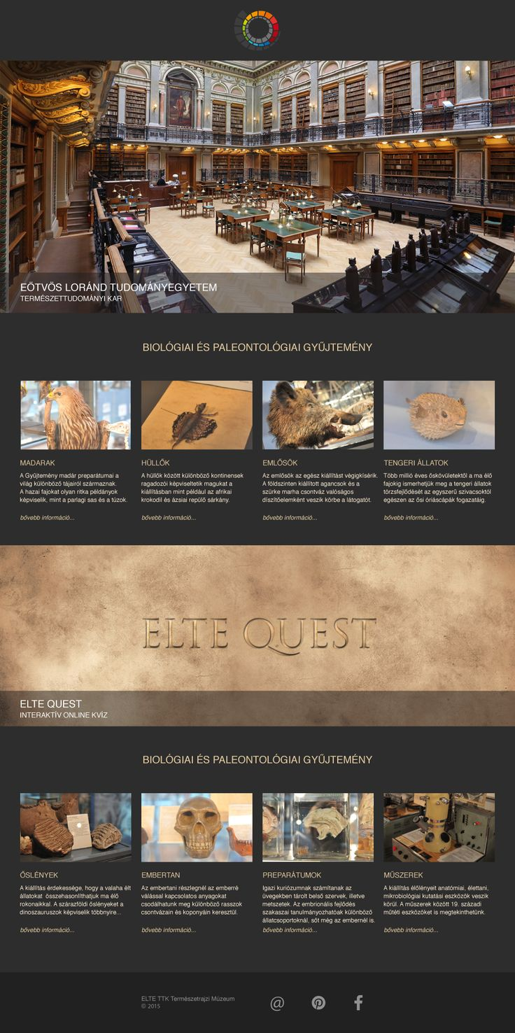 Elte Quest site template