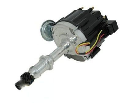 Top Street Performance JM6503R HEI Distributor with Red Cap (50K Volt Coil)