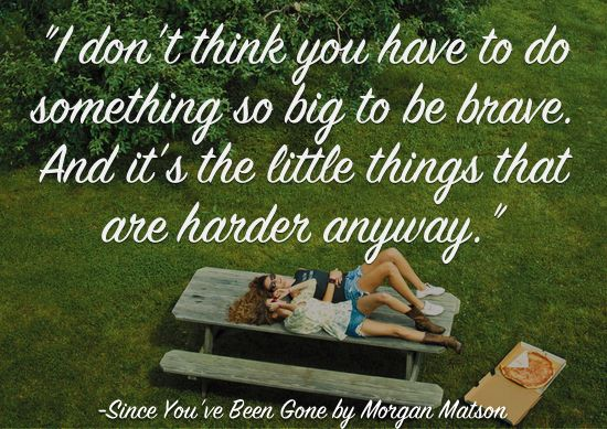 Quotes About Life from 2014 ya books since you've been gone morgan matson | www.readbreatherelax.com