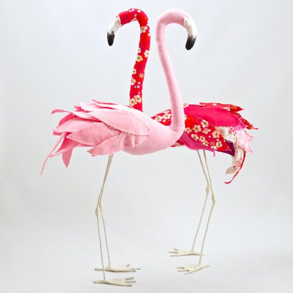 Pink flamingo sewing pattern by AtelierCaroline on Etsy