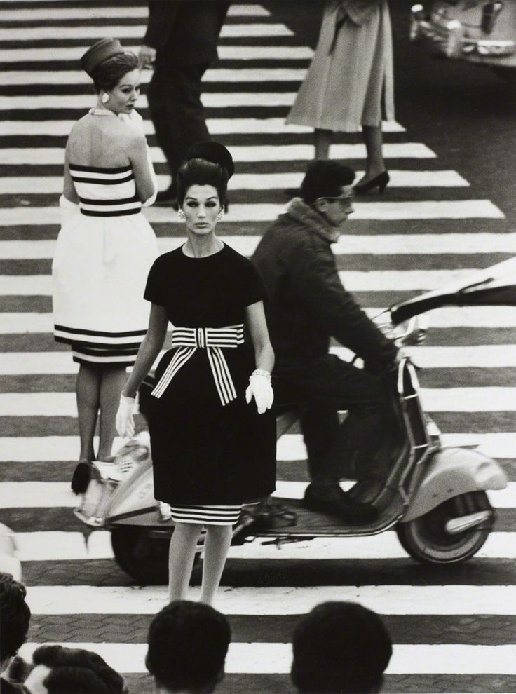 William Klein, 'Simone + Nina, Piazza di Spagna, Rome (Vogue)', 1960