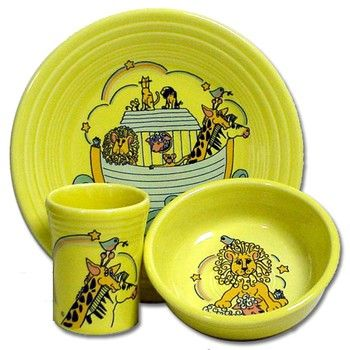 Locate additional dishes and replacements for your collection of discontinued Fiesta Cruisinu0027 Noahu0027s Ark dinnerware.  sc 1 st  Pinterest & 231 best Fiesta® / Homer Laughlin China: Childrenu0027s Fiesta ...
