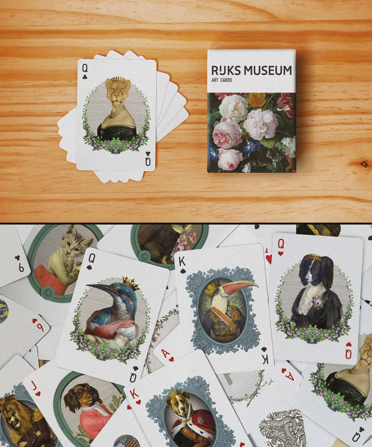 Art Cards by Inbal Aderka. One of the 10 finalists of the Rijksstudio Awards 2015.