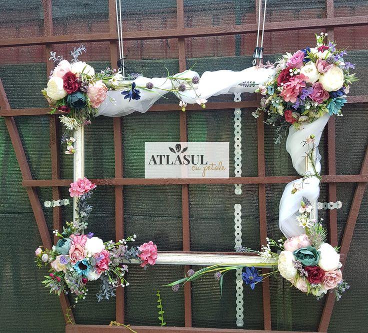 Rama cu flori #nunta #botez