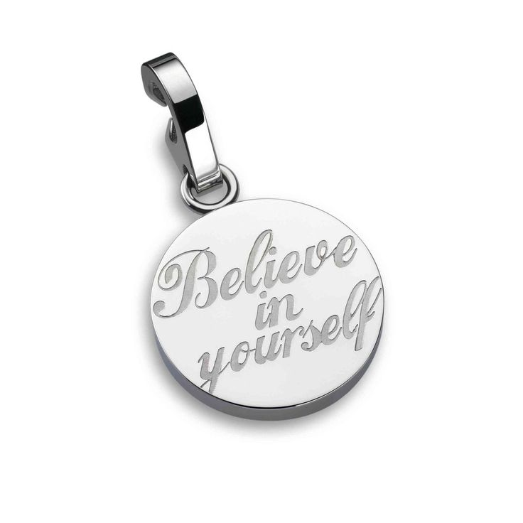 One - Charm BELIEVE IN YOURSELF - Energy for Life