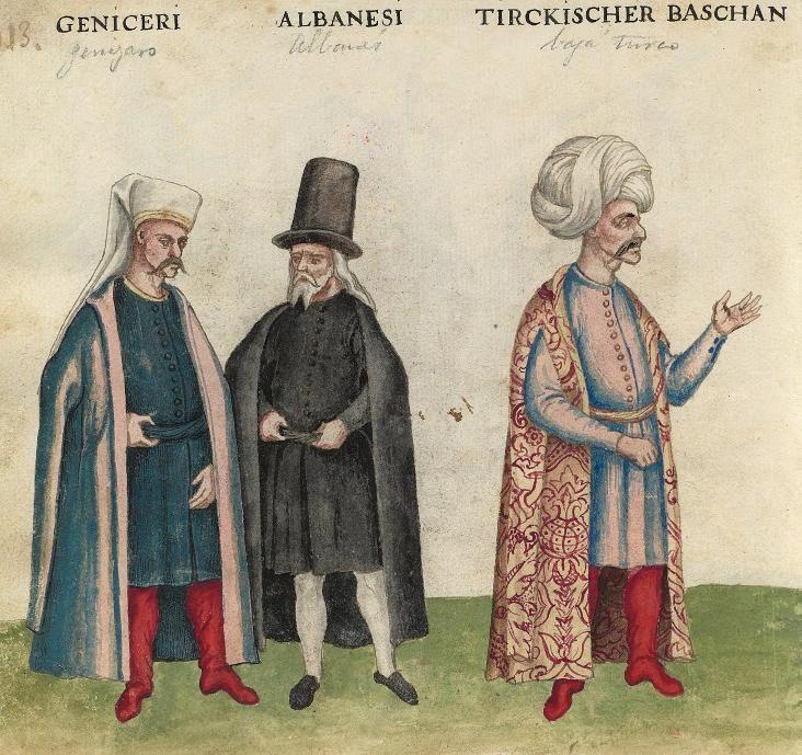 Janissary  Albanian  Turkish Officer
