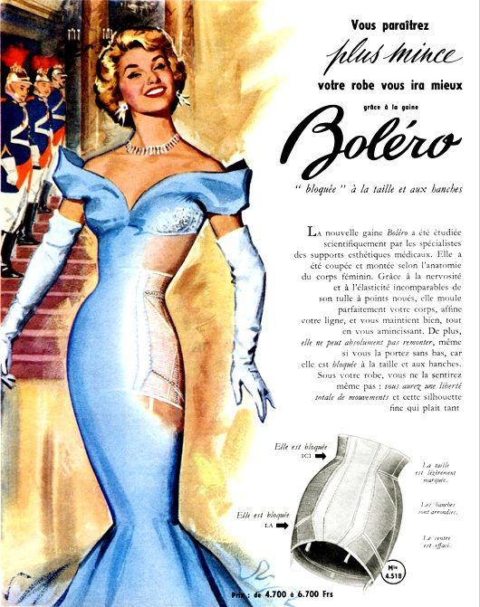 Boléro open girdle