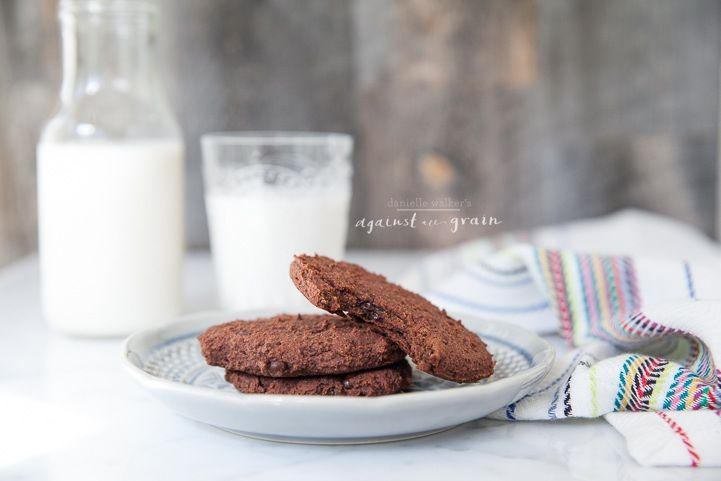 Recipe for almond pulp cookies - Paleo Double Chocolate Cookies