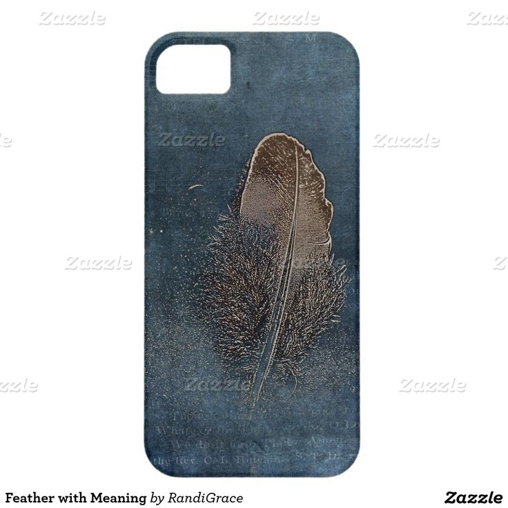 Feather with Meaning iPhone 5 Covers
