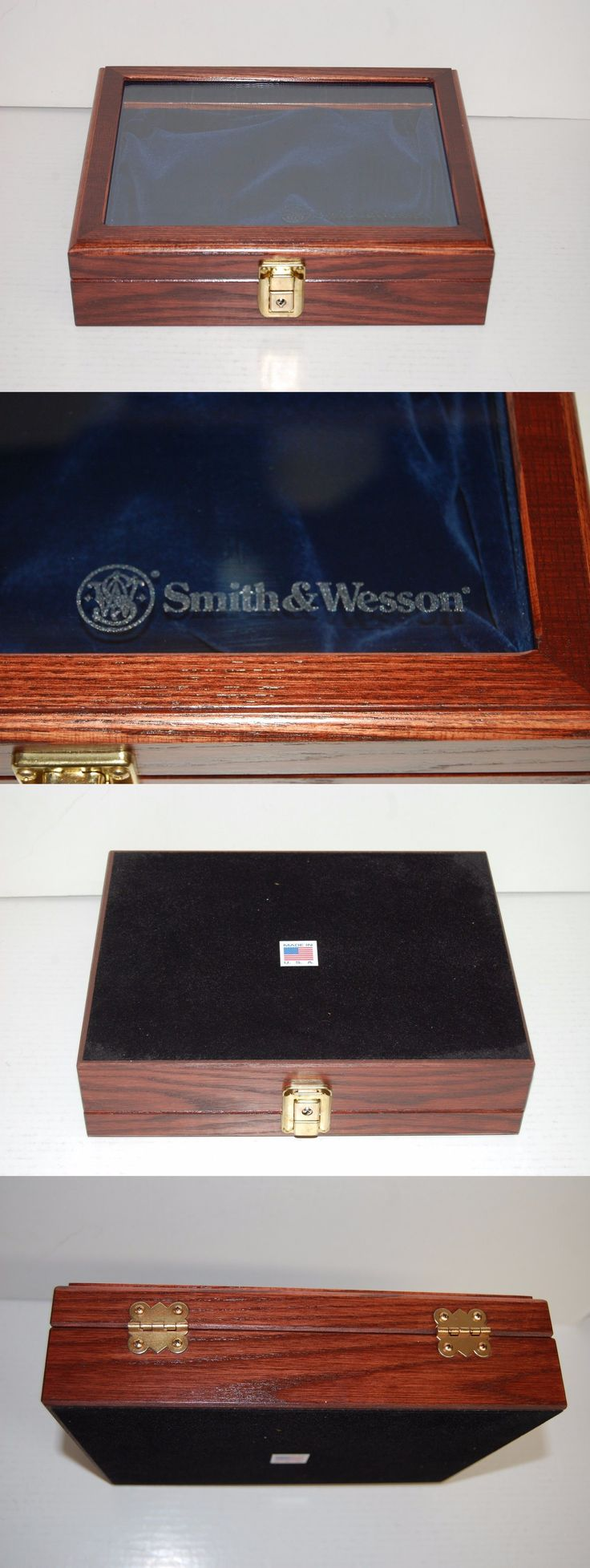 Other Hunting Gun Storage 159038: Smith And Wesson Small Glass Top Presentation Case Revolver Pistol Handgun N L K J -> BUY IT NOW ONLY: $99.75 on eBay!