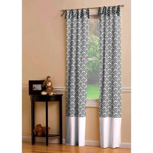 curtains black and white - Google Search