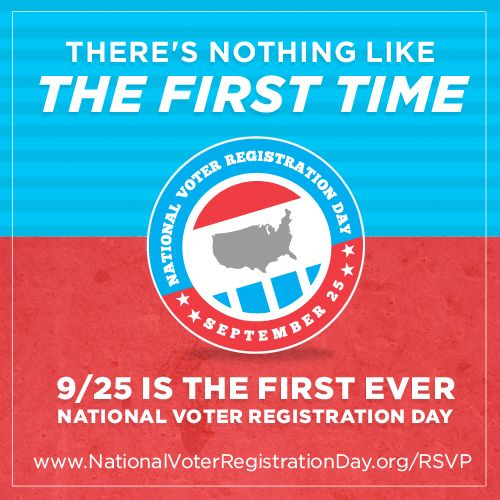 For National Voter Registration Day, Register To Vote! #latism #belatino #latinabloggers #latino #latinos #lifestyle #culture #language #mexican #mexistyle #juanofwords #bilingual #bicultural #vote #925NVRD #election