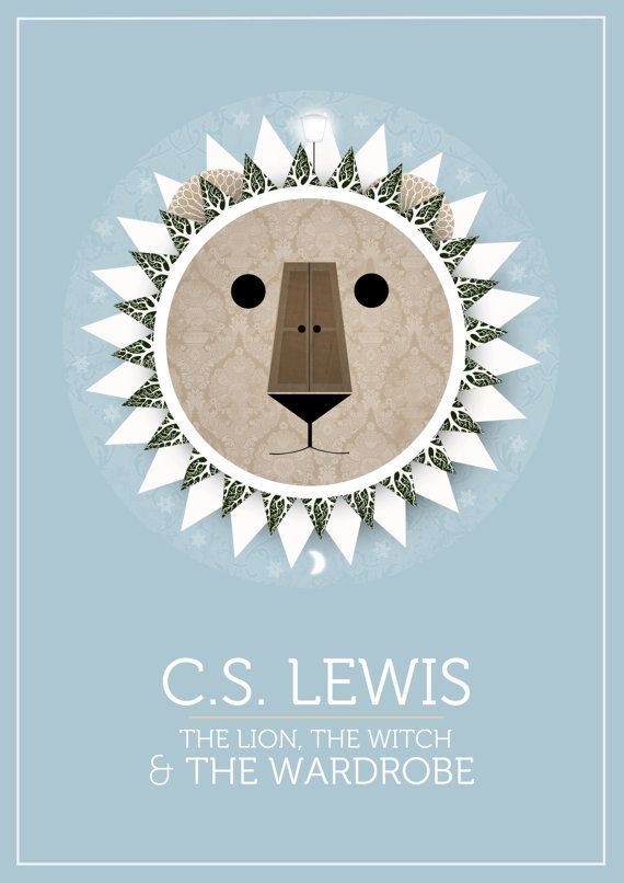 The Lion, the Witch and the Wardrobe Book Cover Design