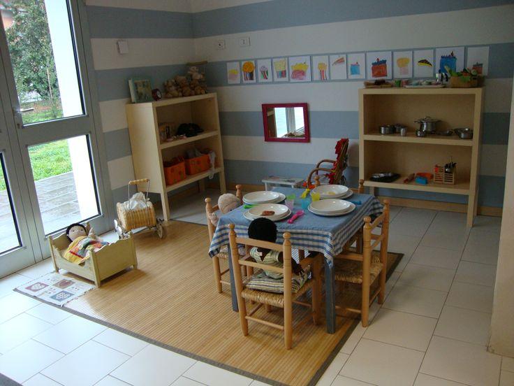 espai de joc a l'escola Il Grillo de Pistoia