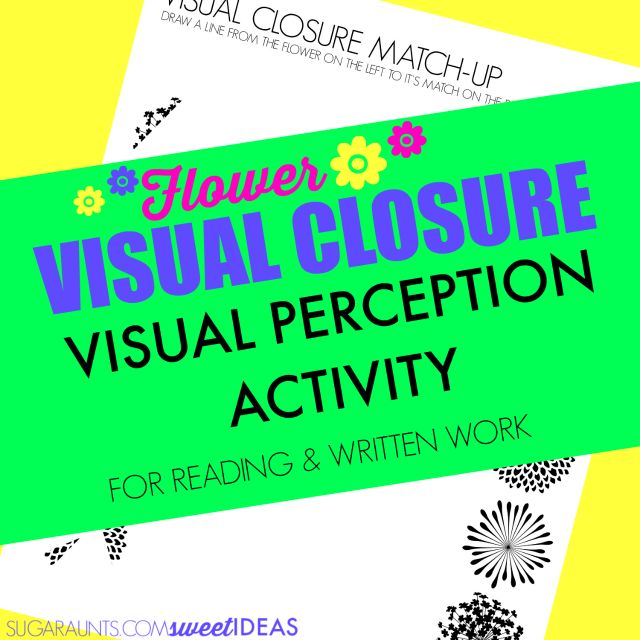 1000 Ideas About Visual Perception Activities On