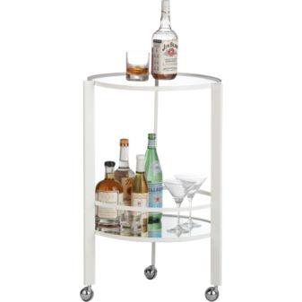 CB2- Ernest White Bar Cart