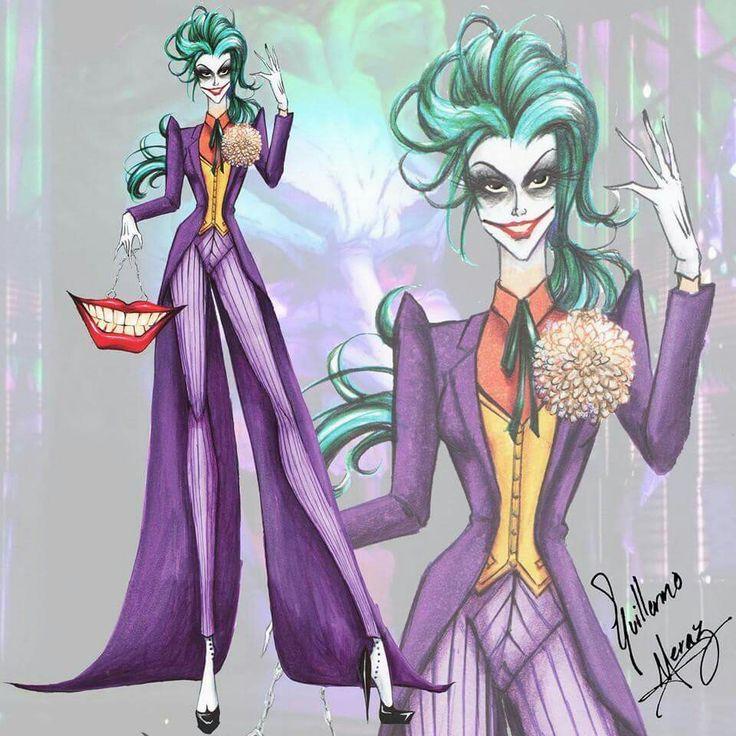 I kinda like this gender bent design of the Joker