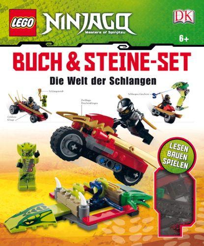 ninjago sets   LEGO Ninjago, Buch & Steine-Set, Die Welt der Schlangen - Buch ..