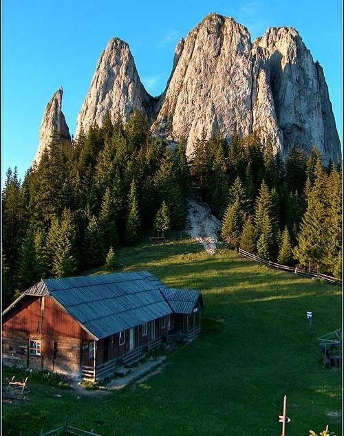 Beautiful view in Romania.