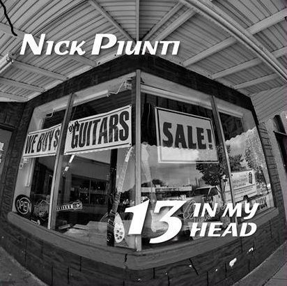 LP Nick Piunti - 13 In My Head (SUGARBUSH RECORDS SB700) new release, RED VINYL!