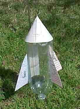 Bottle Rocket! Coolest and easiest for a mom to make.