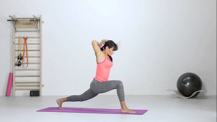 Yoga - Dynamic Lunge with Twist