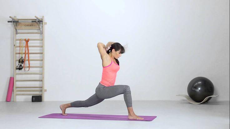 Yoga - Dynamic Lunge with Twist