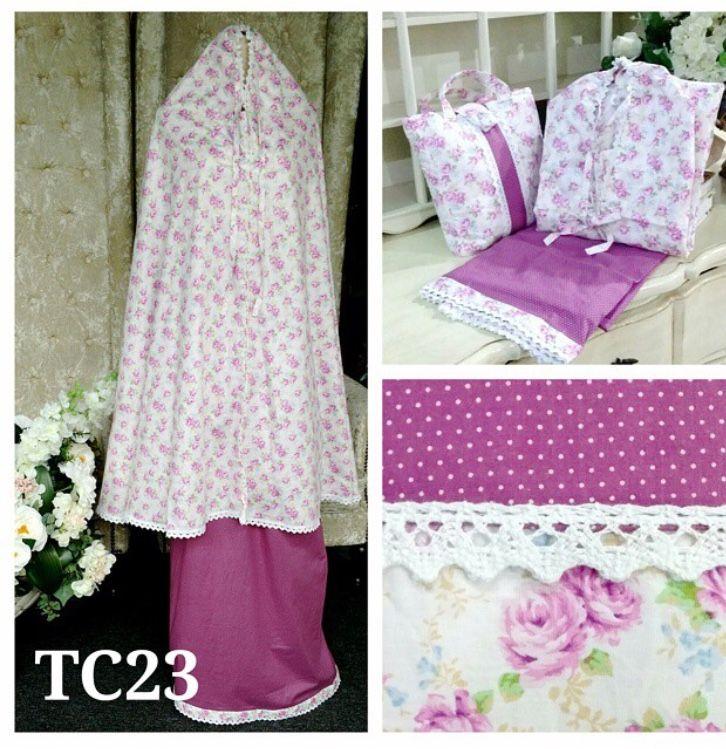 telekung cotton tc23