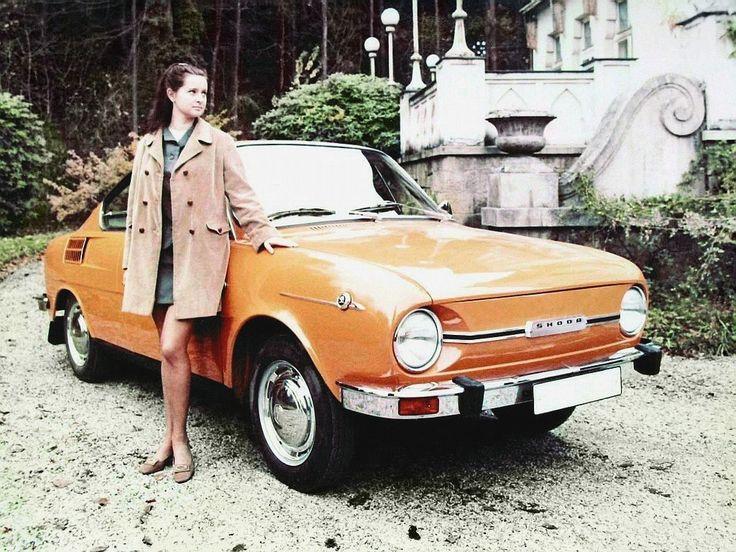 Skoda 110R, cult car from #Czechia