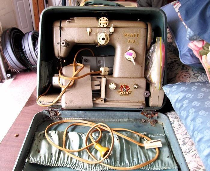pfaff sewing machine model 332