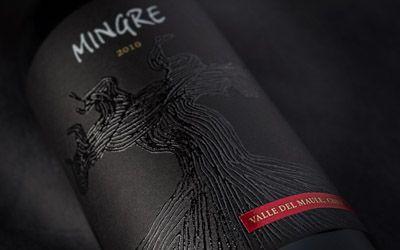 Wine Label Mingre - Bouchon Family Wines