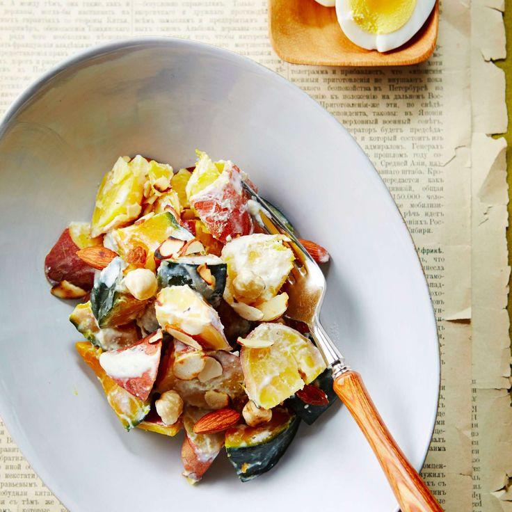 고구마와 단호박은 식이섬유가 풍부하고 저칼로리 식품이라 다이어트는 물론 피부 미용에도 좋은데요. 찜통에 찌거나 구워서 그대로 먹어도 좋지만 맛을 더욱 풍부하게 해주는 드레싱을 곁들이...