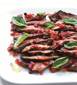 Grilled Butterflied Leg of Lamb with Tomato-Fennel Vinaigrette Why you ...