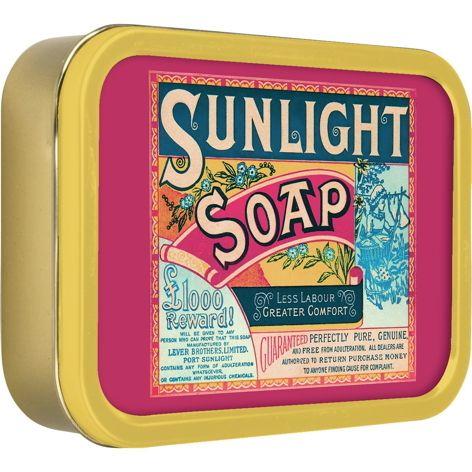 'Vintage' Sunlight Soap blikje