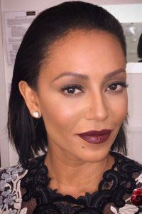 Mel B's make-up artist Adam Burrell, uses Barry M's Ultra Moisturising Lip Paint in Black Cherry, £4.49, on the X-Factor judge that looks super sexy and is under a fiver! We love.