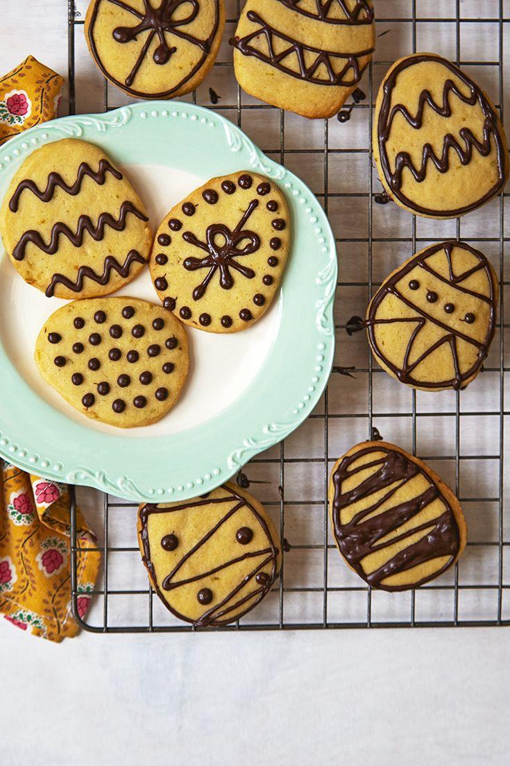 78 best easter baking waitrose images on pinterest baking martha collisons easter egg biscuits negle Images