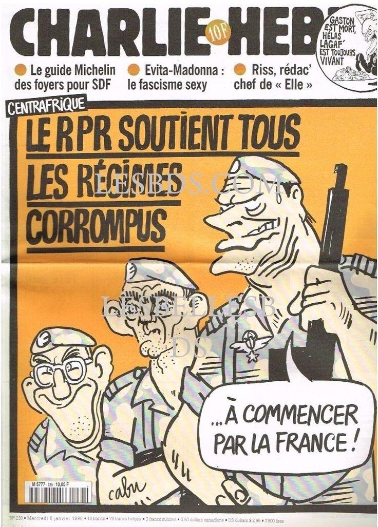 Charlie Hebdo - # 238 - 8 Janvier 1997 - Couverture : Cabu