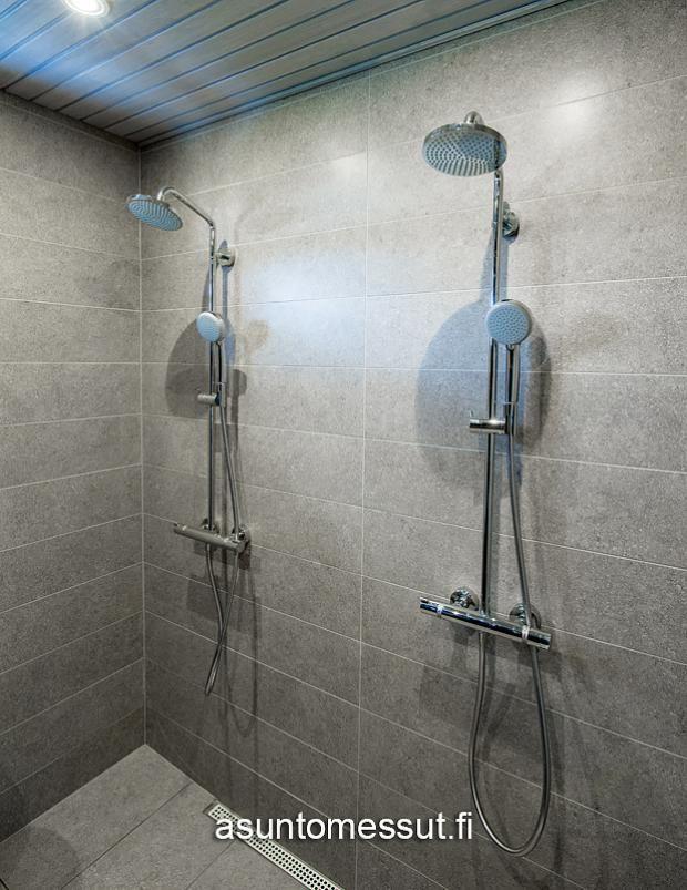 6 Passiivikivitalo Perhe - Pesuhuone | Asuntomessut