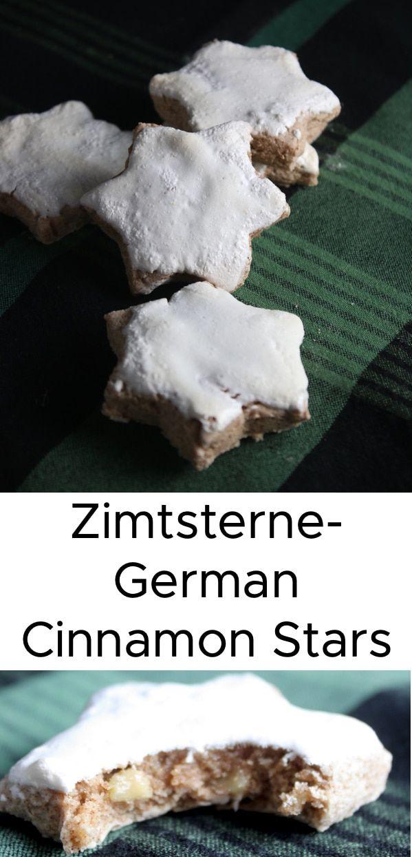 Zimtsterne German Cinnamon Star Cookies Sprinkles By Stacey