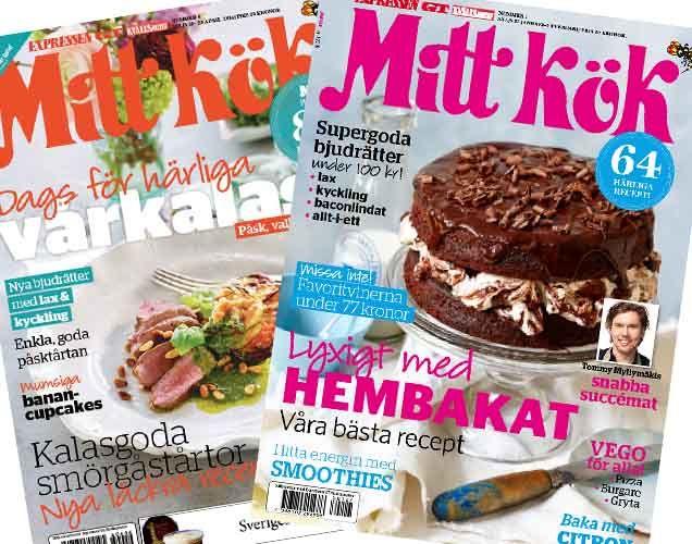 Rosmarinstekt fläskfilé med rostad blomkål och örtdressing - Recept - Mitt Kök