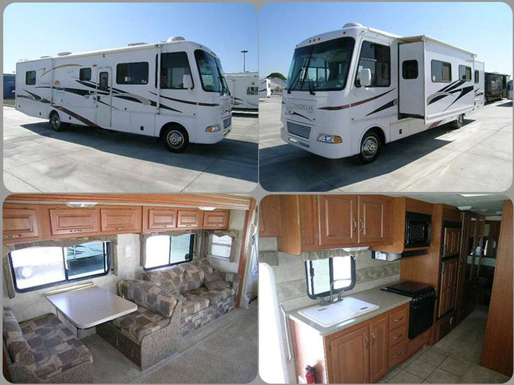 Get most affordable deal on Cheap Used 2007 #Thor Daybreak 3270 #Class_A_Motorhome with 2 ACs, Leveling jacks, 2 TVs, Microwave, Dinette and sofa Slideout by Toscano RV Center for $53500 in Los Banos, CA, USA. Call Dave for best price: 877-485-0190 and check the details at RvStock.Net