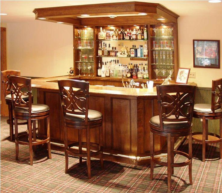 Mini Custom Wooden Bar At Home Part 57